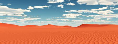 sand dune: Desert landscape