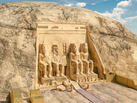 3d temple: Abu Simbel
