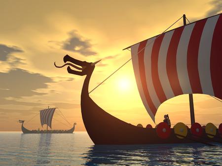 scandinavia: Viking ships