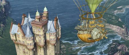 fantasia: Castelo escoc