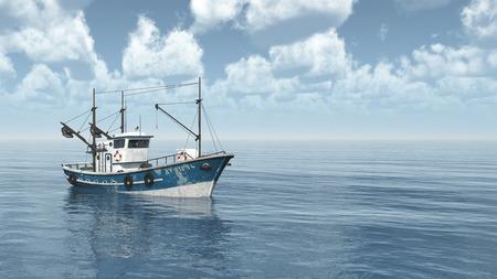 Fishing trawler Foto de archivo