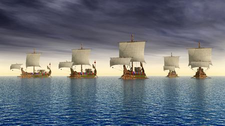 Ancient Roman Warships