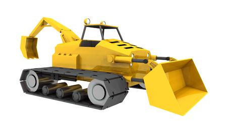 cargador frontal: tractor compacto, cargador frontal y retroexcavadora