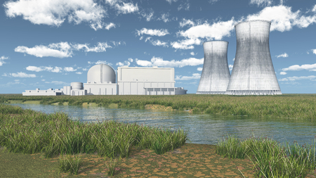 fission: Nuclear power plant