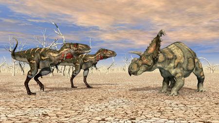 monstrous: Nanotyrannus and Albertaceratops