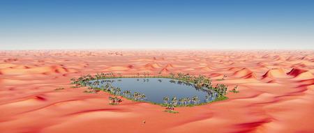 desert oasis: Desert oasis