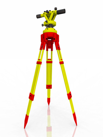 land surveying: Transit theodolite