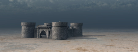 fortification: Medieval castle