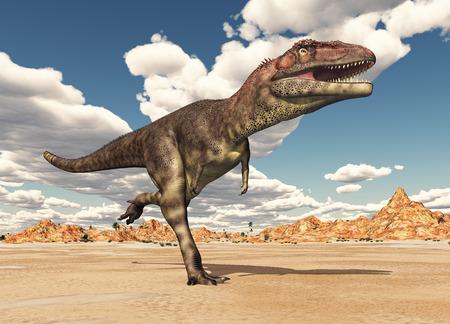 monstrous: Dinosaur Mapusaurus