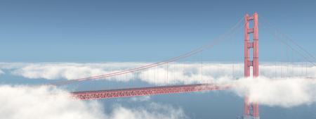サンフランシスコのゴールデン ゲート ブリッジ