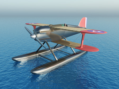 US-American seaplane from the 1920s
