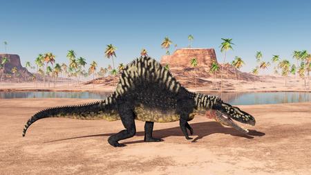 Archosaur Arizonasaurus Foto de archivo - 84041095