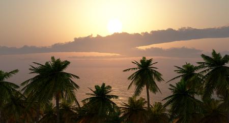 Paraíso de vacaciones Foto de archivo - 88360109