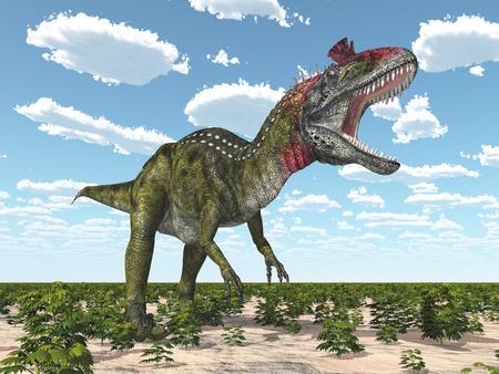 monstrous: Dinosaur Cryolophosaurus