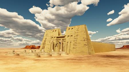 Temple of Edfu in Egypt