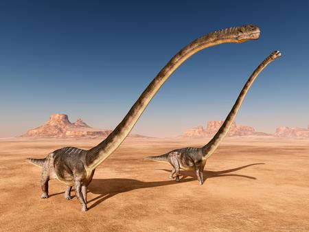 Dinosaur Omeisaurus Stock fotó