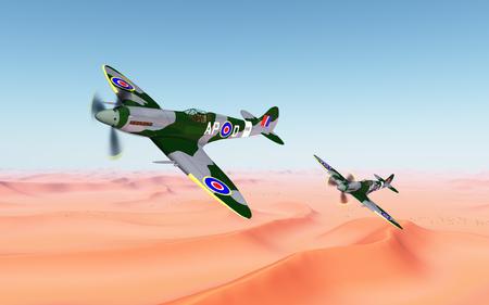 British fighter aircrafts of World War II