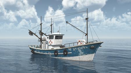 Fishing trawler Stockfoto