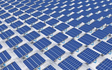 Solar panels Stock fotó