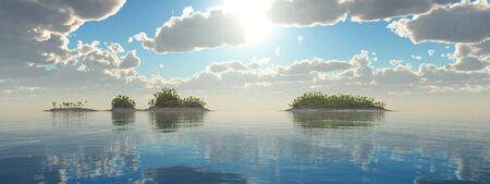 Tropical islands Imagens