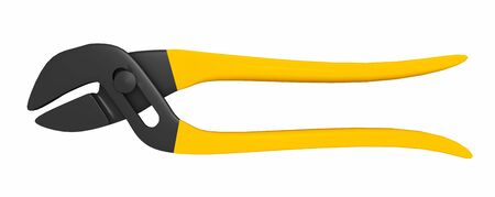 Adjustable pliers isolated on white background Banco de Imagens - 132231316