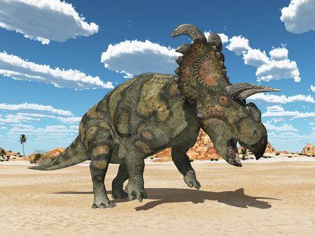 Dinosaur Albertaceratops
