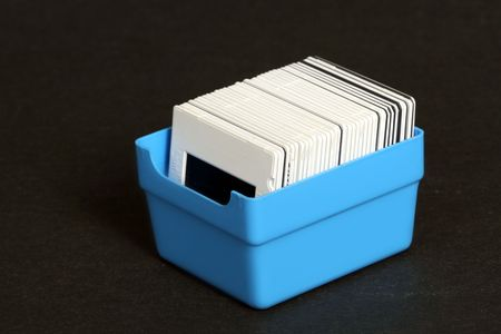 Box with slides
