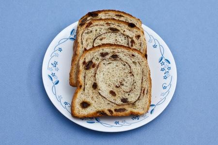 レーズンのパン 写真素材
