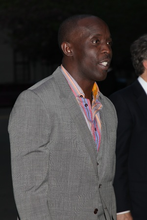 to attend: NEW YORK - APRIL 17: Michael K Williams at  attend the Vanity Fair Party during the Tribeca Film Festival April 17, 2012 in New York. Editorial