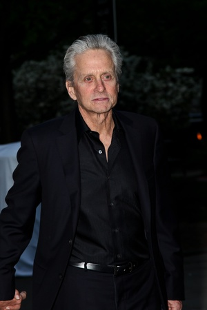 NEW YORK - APRIL 17: Actor Michael Douglas  attend the Vanity Fair Party during the Tribeca Film Festival April 17, 2012 in New York.