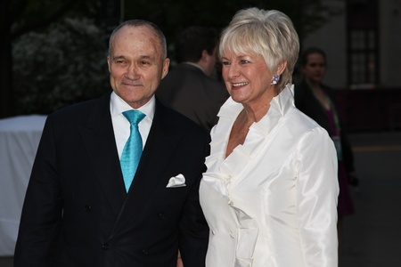 commissioner: NEW YORK - APRIL 17: Raymond W. Kelly, Veronica Kelly at  attend the Vanity Fair Party during the Tribeca Film Festival April 17, 2012 in New York.