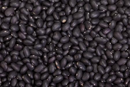 Black beans background Stock Photo - 17601570