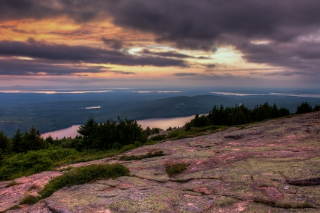 Cadillac Mountain sunset photo