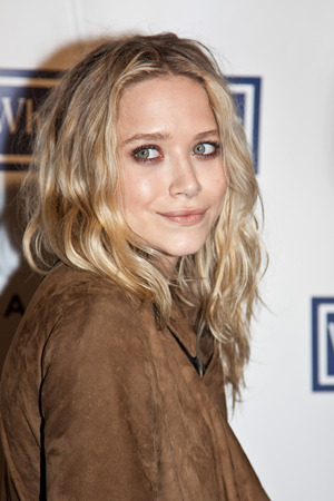 NEW YORK - APRIL 22: Mary-Kate Olsen attends the premiere of \ Редакционное