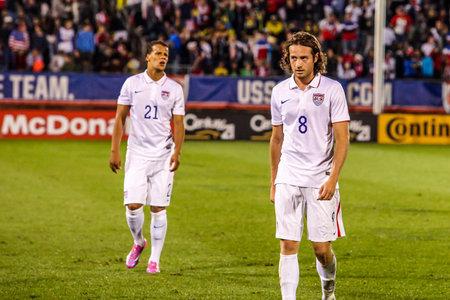 HARTFORD - OCTOBER 10: Mix Diskerud 8 on US International Friendly match between US Men s National Team vs Ecuador, on October 10, 2014, in Rentschler Field stadium, Hartford, USA.