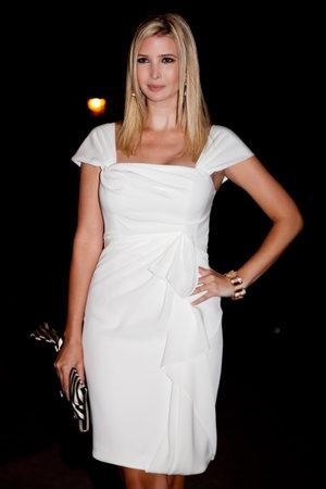 ニューヨーク - 4 月 21 日: イヴァンカ トランプはニューヨークで 2009 年 4 月 21 日 2009 年トライベッカ映画祭の悪女パーティーに出席します。