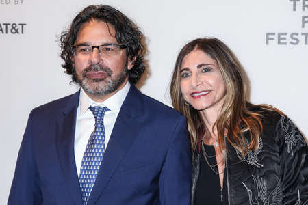 ニューヨーク 20: ゲスト プロデューサー健ビラー (L) 2017 トライベッカ映画祭もうトライベッカ PAC で 2017 年 4 月 20 日にニューヨーク市でナシ