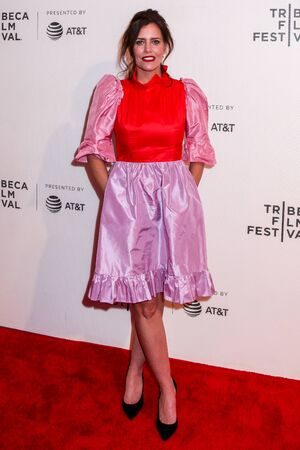 NEW YORK, NY - APRIL 30. 2019: Ione Skye attending at 30th Anniversary of Say Anything  2019 Tribeca Film Festival at Stella Artois Theater at BMCC Tribeca Performing Arts Center 報道画像