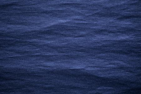 blue textile background, rough cotton material texture Stock Photo - 14221017