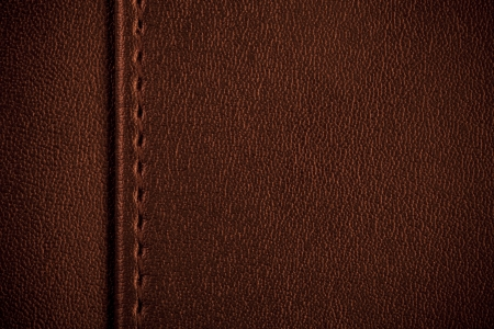 brown leather texture, seam between margin and background photo