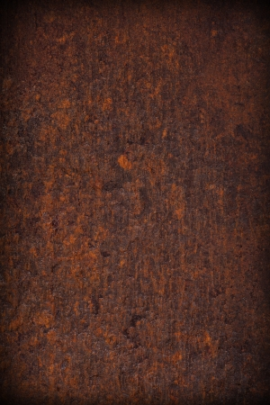 brown old rust metal plate background , abstract texture