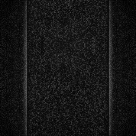margins: black leather background with margins