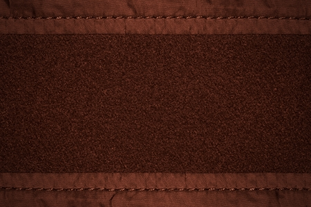 margins: brown wool background with canvas margins or rough fabric texturte Stock Photo