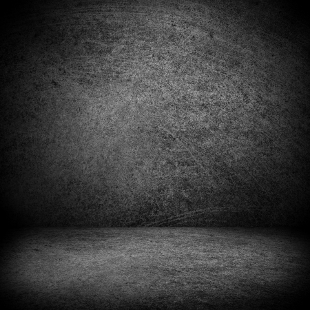 black and white texture or blank stage space, grey background Stock Photo - 17240206
