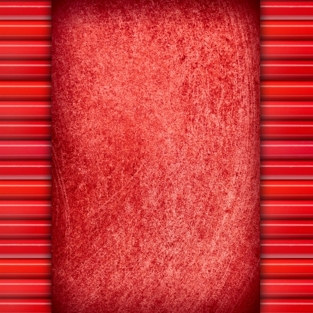 red abstract background or rough pattern texture with margins Stock Photo - 17693726