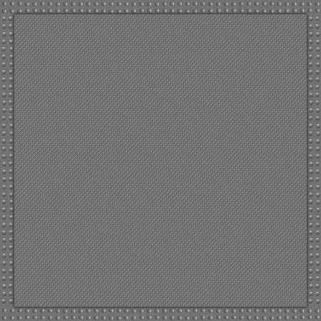 grey metal abstract background or slanting circle texture with frame