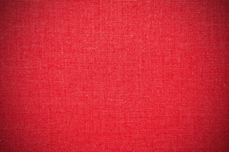 fabrick: red canvas background or color linen texture Stock Photo