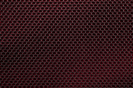 fabrick: black wire fabrick on red background or grid texture