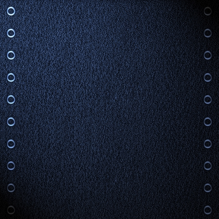 blue leather background, black and white grain texture  photo