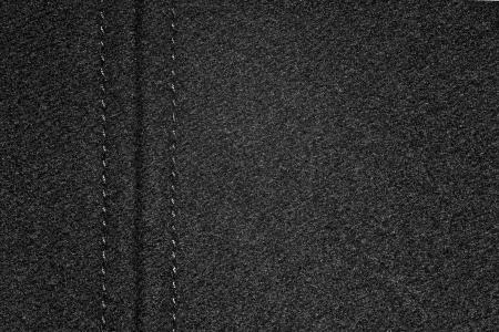 margen: tela de fondo negro con margen o de grano textura de tela